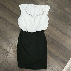 Guess Black and White dress